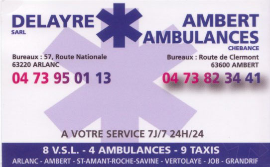 Delayre Ambulance
